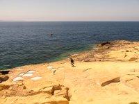 Inmersion desde la costa