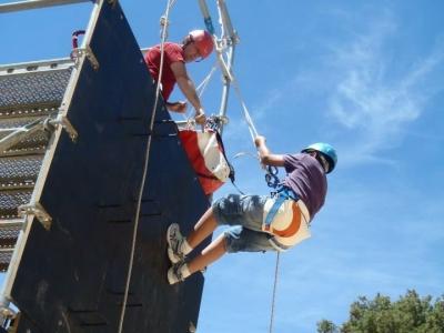 Parque aventura en las alturas Benilloba colegios