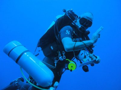 PADI开放水域潜水员特内里费提供团体