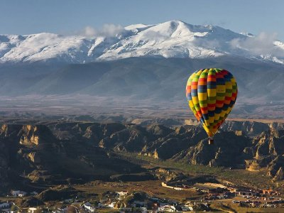 Tethered Balloon in Granada Half Day