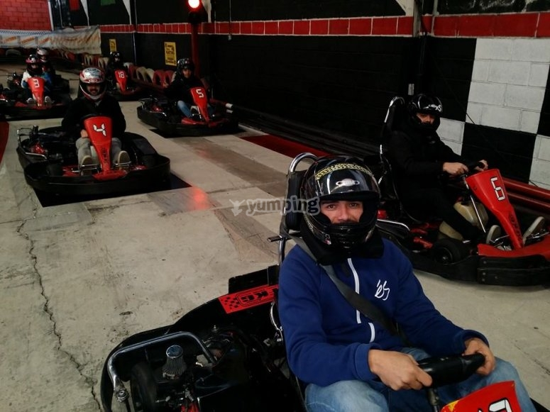 coche karting