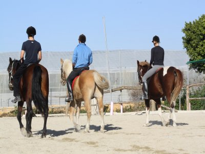 Horse riding tour in Sierra de Almería - 2h