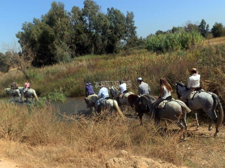Recorrido a caballo en Don Benito