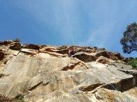 Classe pratica di arrampicata Rioja Alavesa Turismo