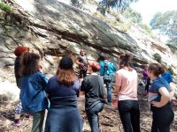 Gruppo di arrampicata a Rioja Alavesa Turismo