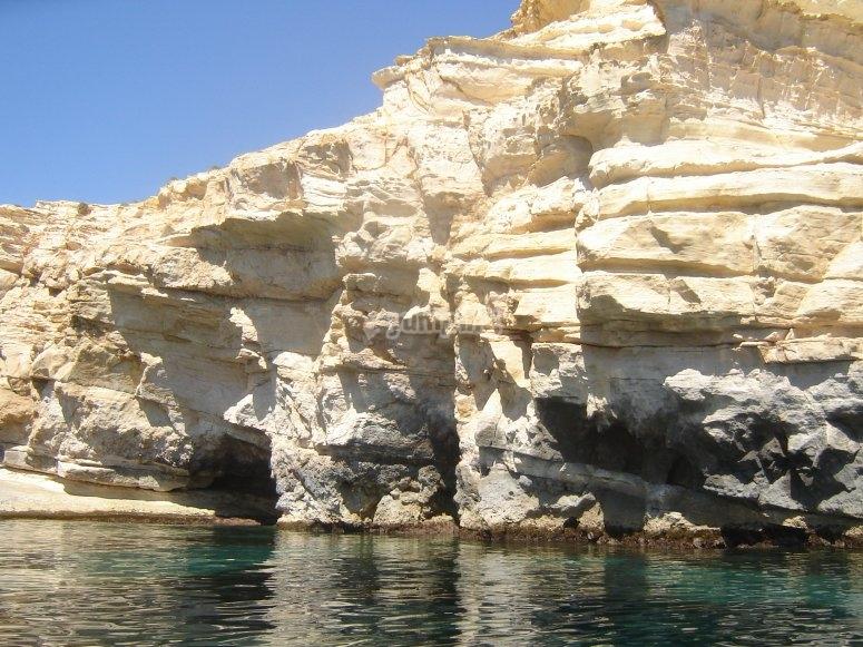 Perfil del litoral almeriense