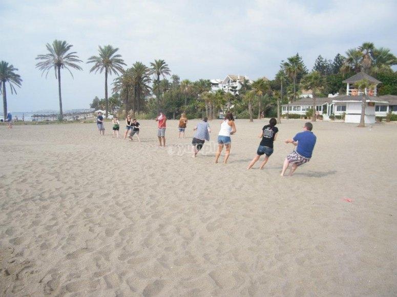 Tirando de la soga en Marbella