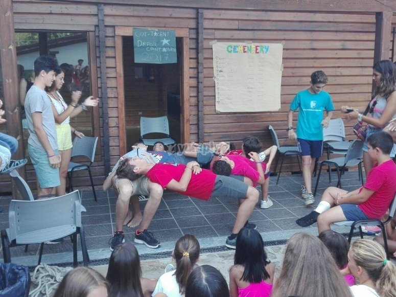 Evening workshops and games