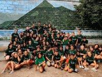 Photo of English camp group