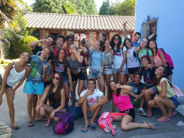 Participants of our camp