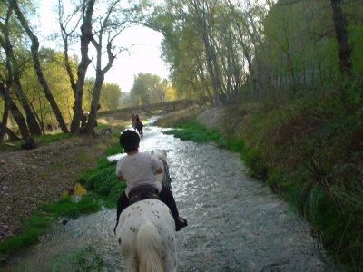 Especial Parejas: Ruta a caballo 1h Novallas