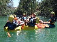 Rosco-Rafting con los amigos