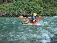 Rosco-Rafting en el rio Genil