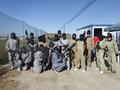 Paintball in Segovia With 100 Balls of Ammunition