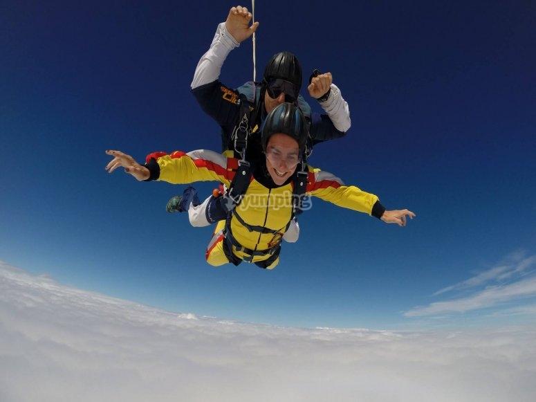 Salto desde 4000 metros