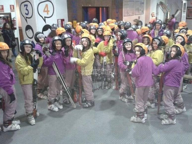 grupo esqui