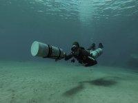 Corso di immersione laterale a Lanzarote