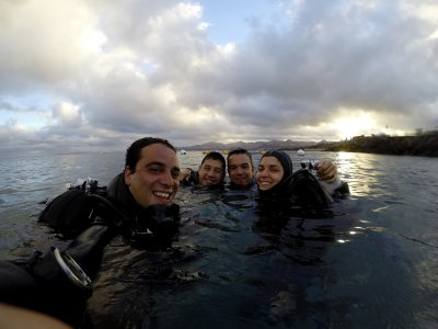 Diving course with nitro Lanzarote
