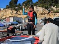Con los mejores materiales de windsurf
