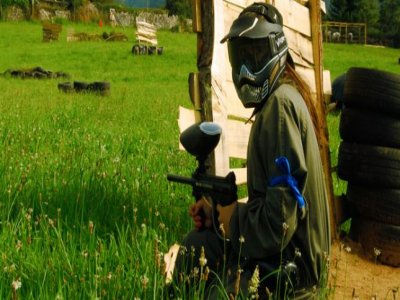 Paintball game for kids in Pruvia
