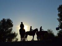 Horse riding route Valencia meal photos+class