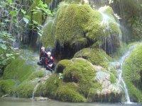 Barranquismo iniciación Ríu Glorieta con fotos