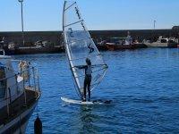 监控学生帆板帆板初学者
