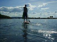 加泰罗尼亚的Paddle Surf