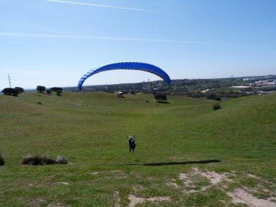 Vuelo parapente biplaza Pedro Bernardo 800 metros