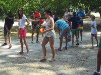 juegos en campamento