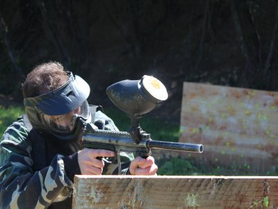 Paintball in Castellar del Vallés, 200 paintballs