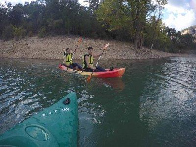 Media jornada de piragüísmo en el río Júcar