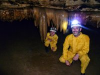 Participants with some stalactites