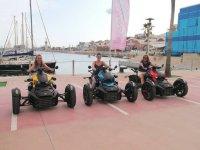 Rykers en el puerto Montemar Motor