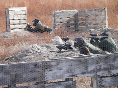 Birthday with Paintball, 100 balls, for adults