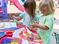 Pintando al aire libre