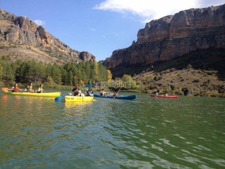muchas canoas