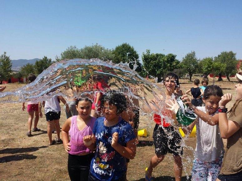 Guerra con agua