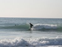 Surfing on the waves of Mojacar