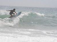 Surfista en costas de Almeria