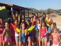 English camp and water sports during 7 days