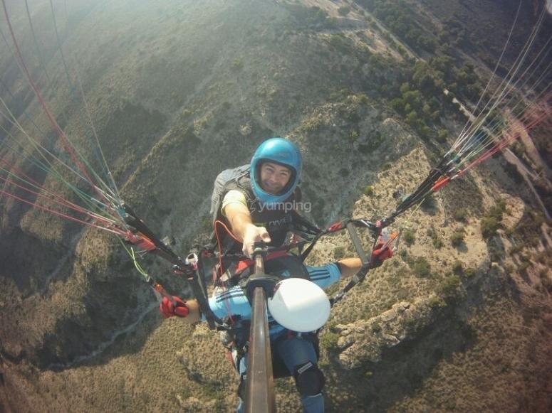 Parapente tandem en Alicante