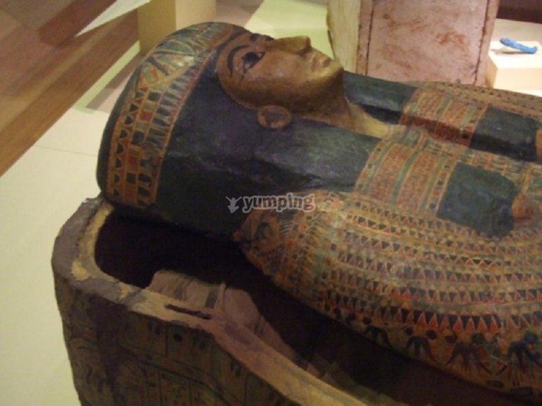 Egiptian sarcophagus