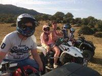 Ruta en quad con la familia en Parque Natural de los Alcornocales