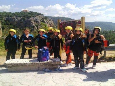 Campamento inglés en Cuenca Abril