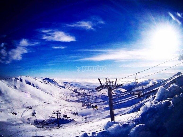 Ski pass in Alto Campoo