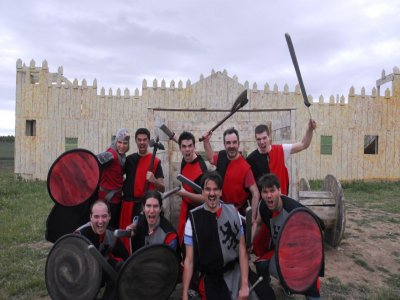 Thematic Adventure in Madrid: Medieval Combat
