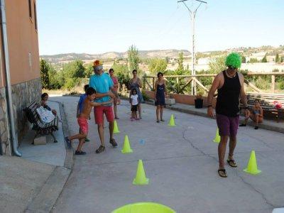 Campo familiare a Cuenca per Pasqua