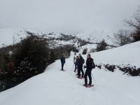 Snowshoeing Picos de Europa Youngsters
