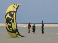 curso de kitesurf en b1 kiteboarding